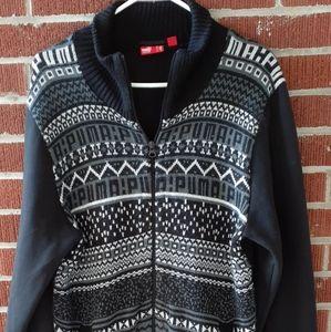 Puma Zip Up Sweater